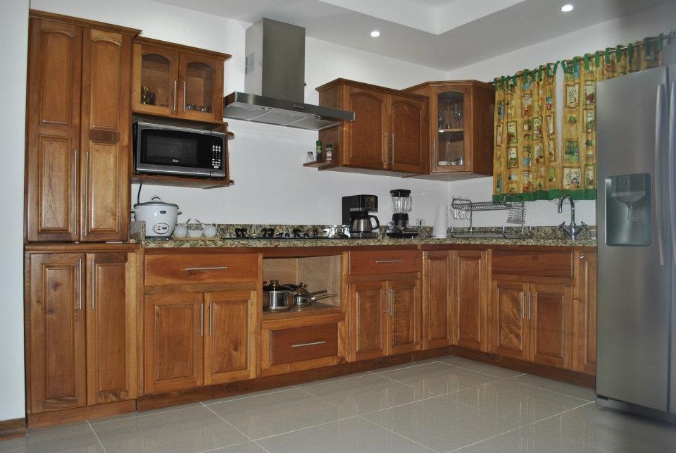 Muebles de madera de cocina mercado libre for Muebles aereos para cocina